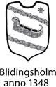 Blidingsholm – Das Internationale Scout Centrum Schwedens Logo